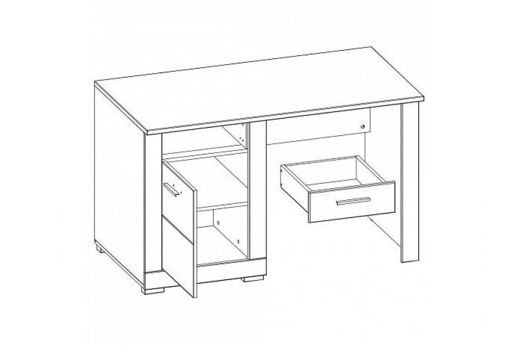 Psací stůl Twin TW12