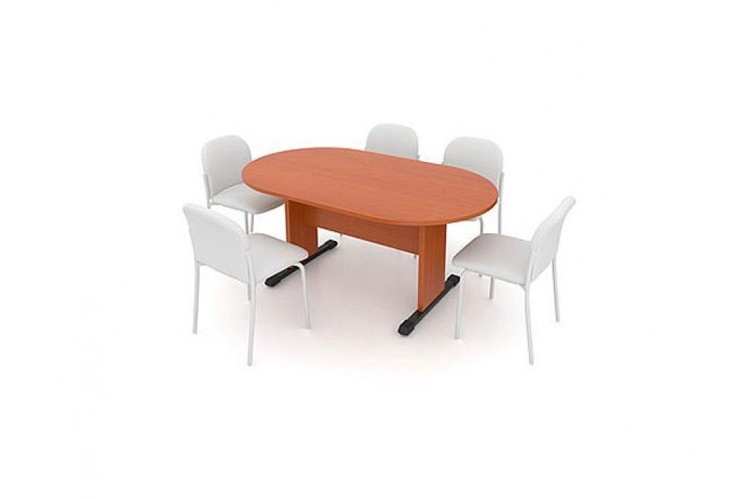 Jednací stůl - oválný 170 cm
