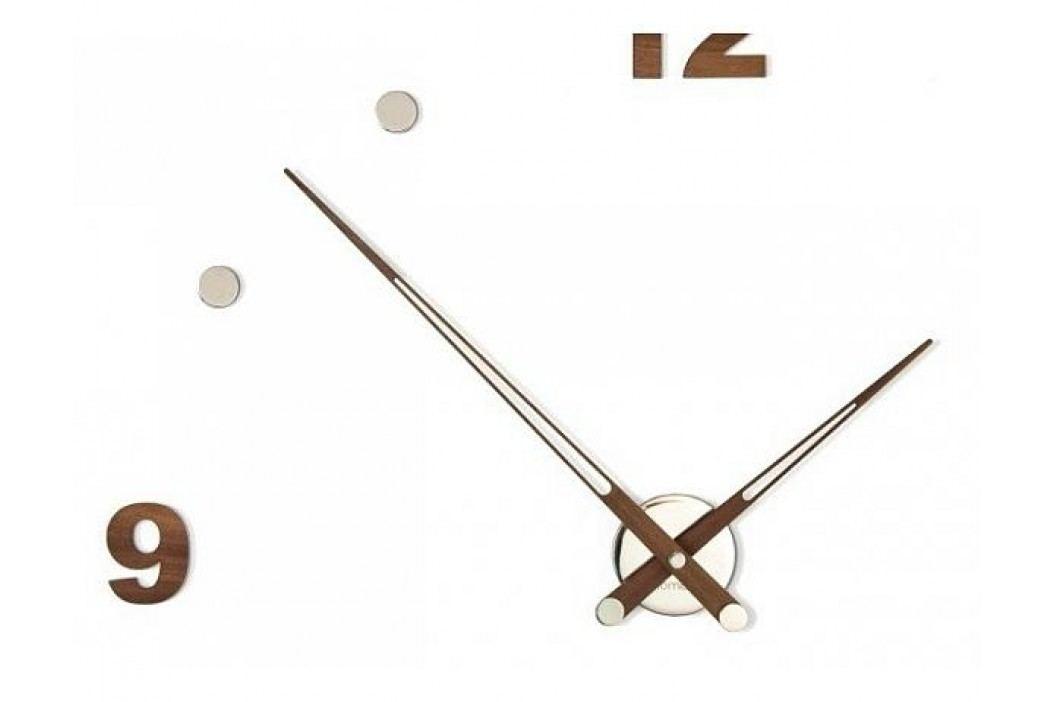 Designové nástěnné hodiny Nomon Axioma Walnut 73cm