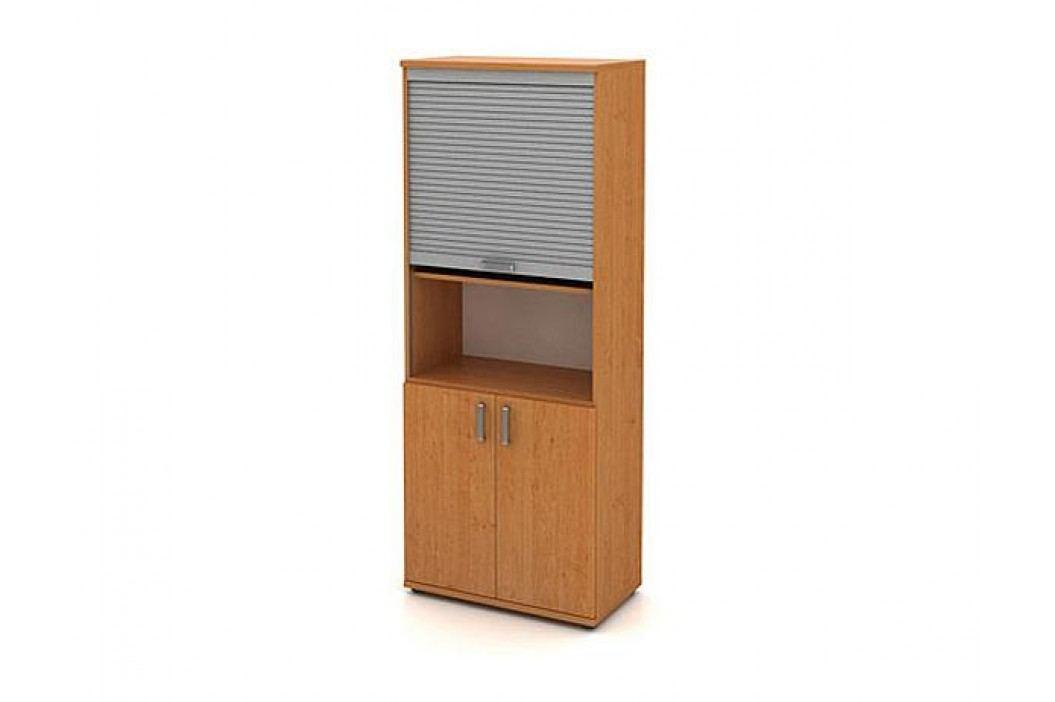 Skříň vysoká 2-dveřová s roletou
