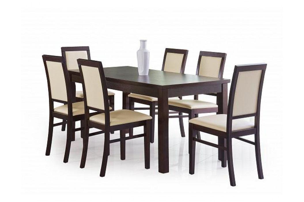 Jídelní stůl Ernest 160/200, ořech tmavý