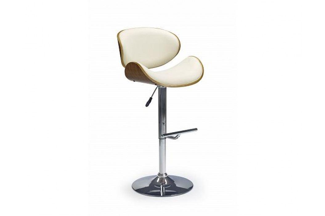 Barová židle H-44, krémová