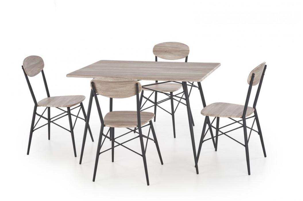 Jídelní set H8002 (stůl + 4x židle)