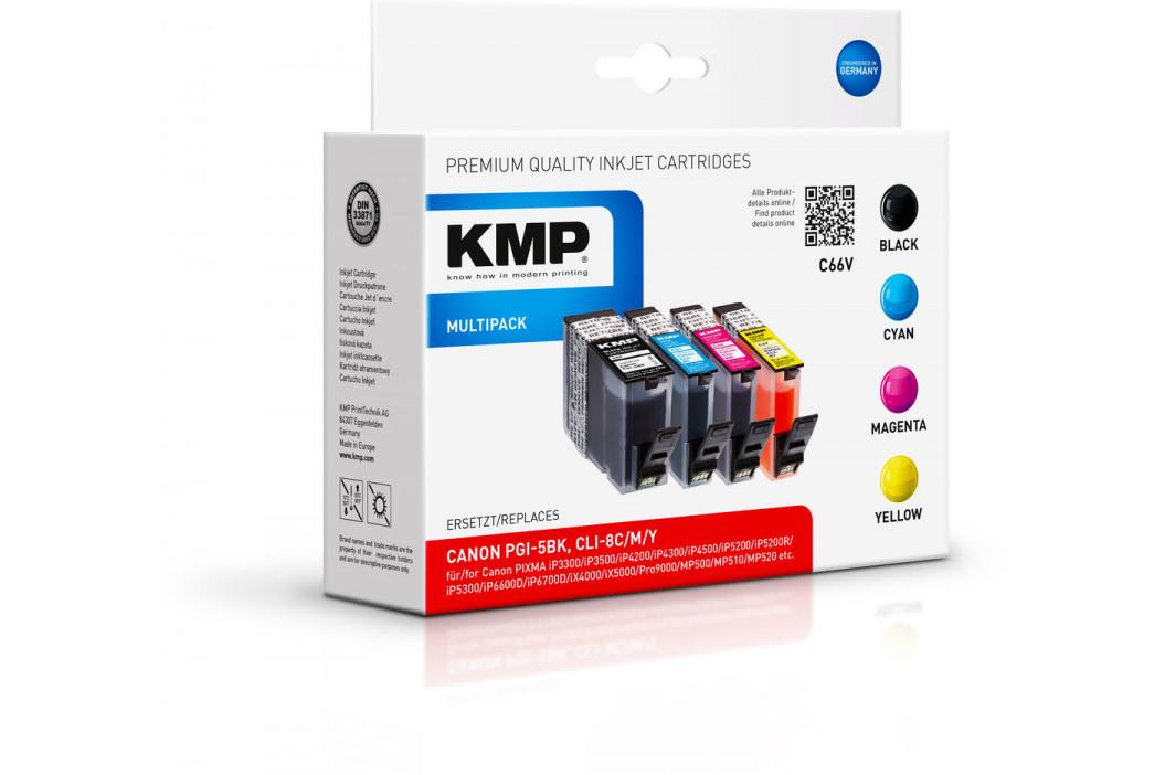 KMP C66V (PGI-5BK / CLI-8C/M/Y)