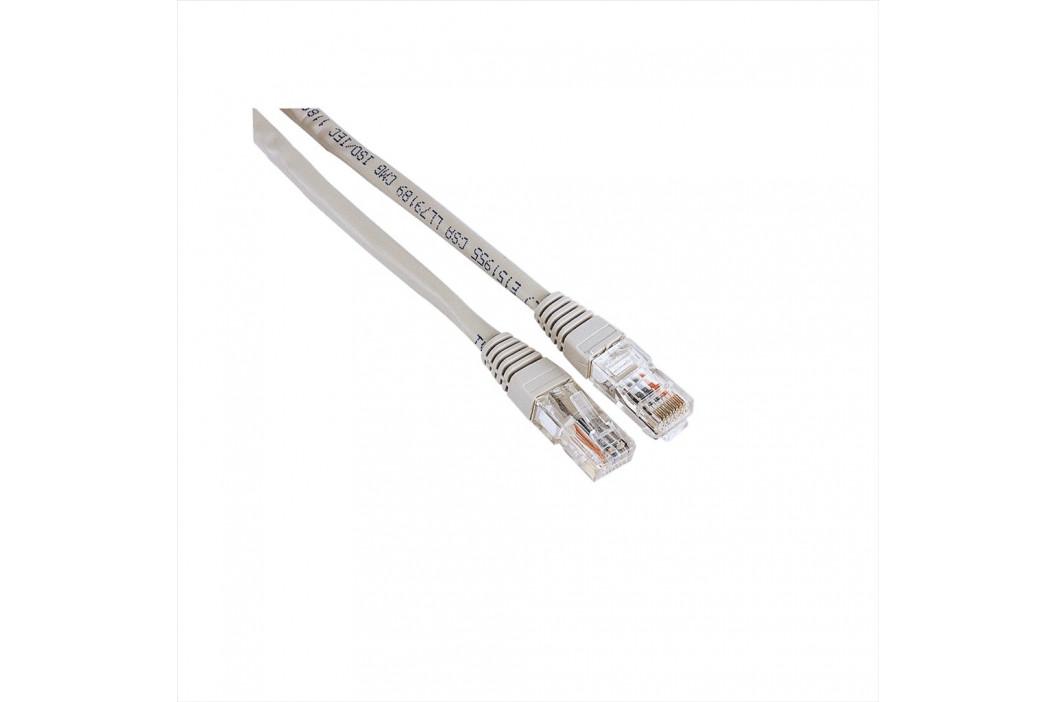 Hama síťový patch kabel, 2xRJ45, UTP, nebalený, 7,5 m