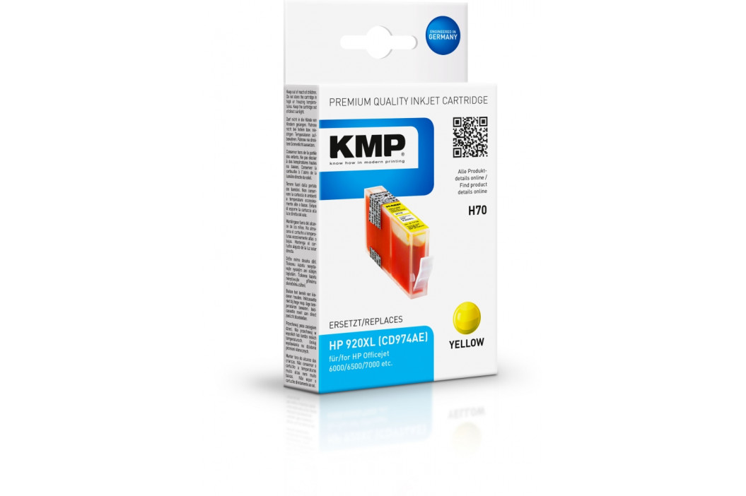 KMP H70 (HP 920 Yellow XL)