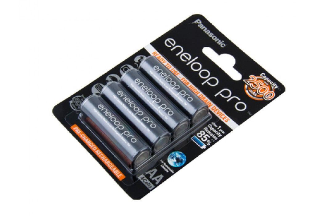 Nabíjecí baterie AA Panasonic Eneloop Pro 2450mAh Ni-MH 4ks Blistr