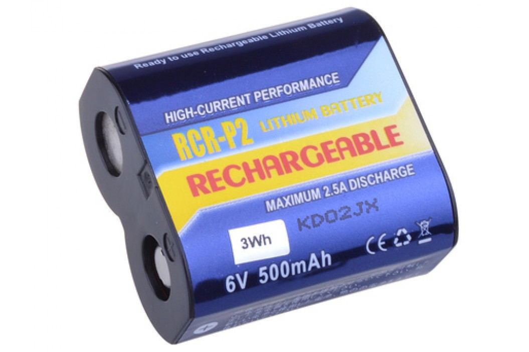 Nabíjecí fotobaterie CR-P2, DL223A Li-Fe 6V 500mAh 3Wh - AVACOM DICR-223-03B - neoriginální