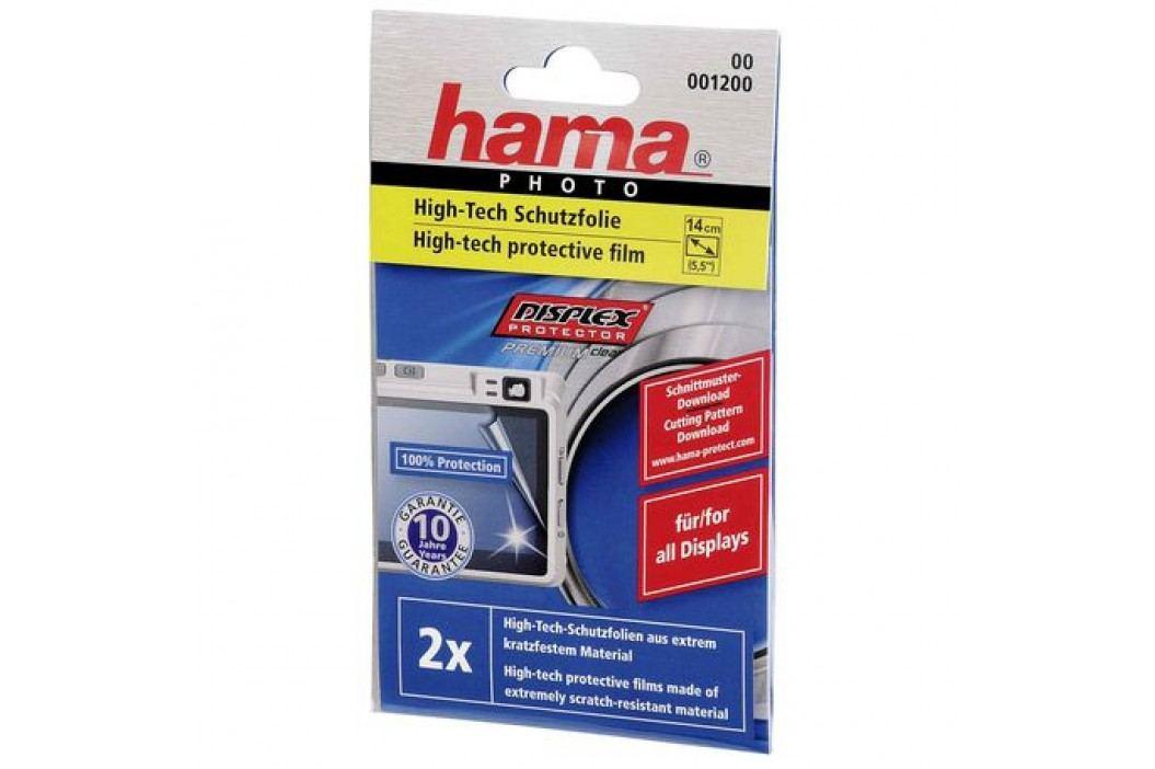 Hama Premium univerzální ochranná folie na displej do 14 cm (5,5