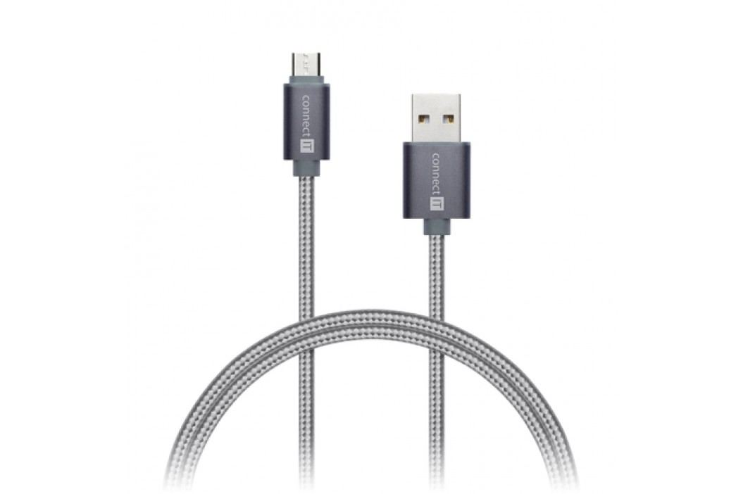 CONNECT IT CI-965 micUSB 1m gray