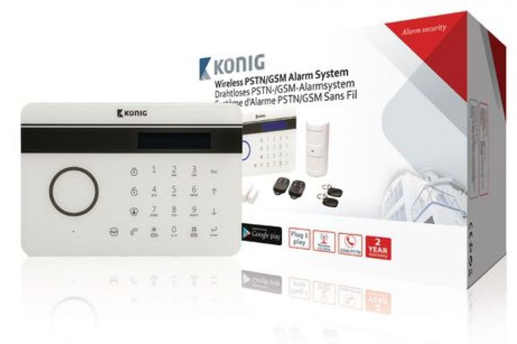 König Bezdrátový alarm PSTN/GSM SAS-300