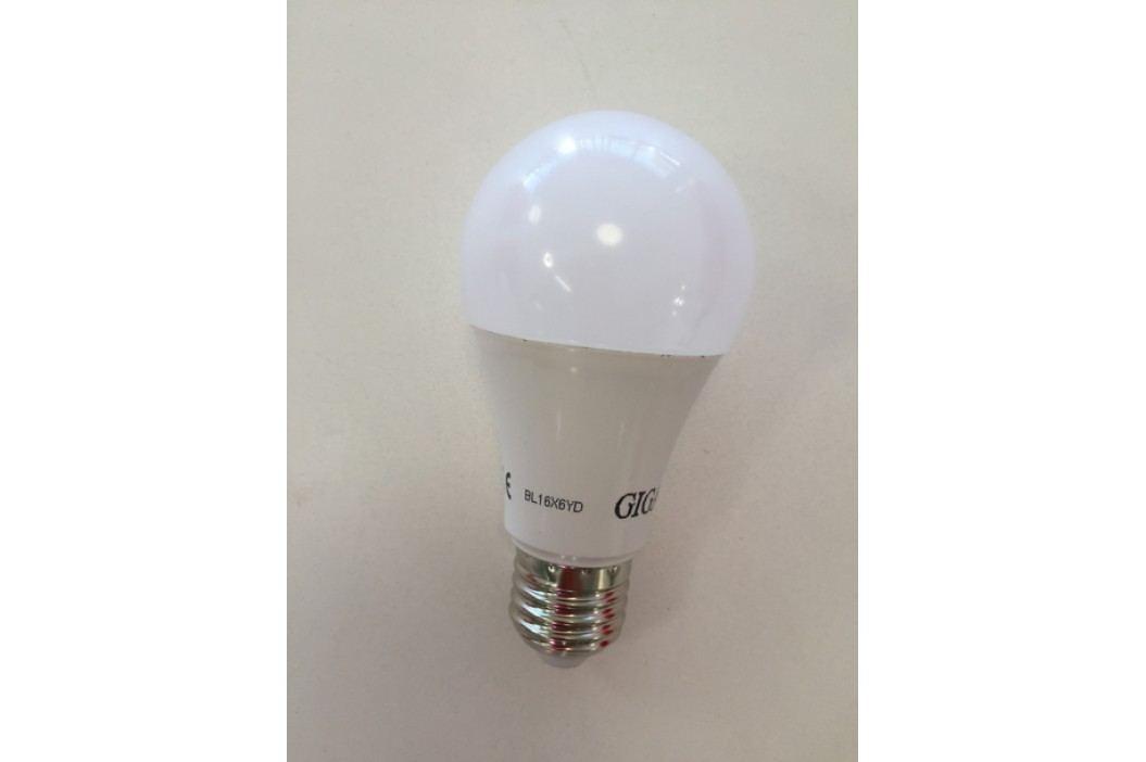 GIGALED E27 9W stud.bílá GL-E27-9-800C