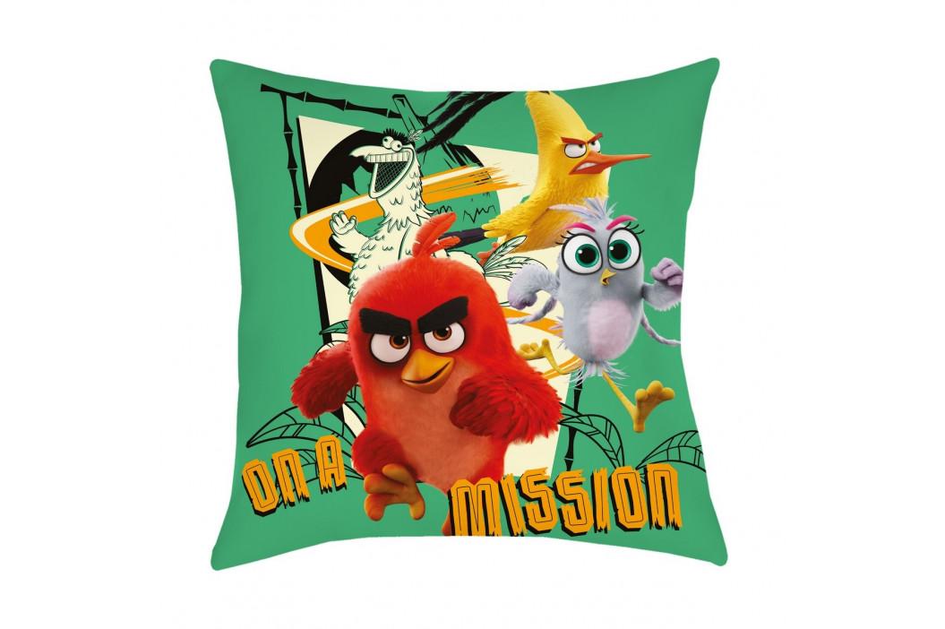 Halantex Polštářek Angry Birds Movie 2 On a mission, 40x 40 cm