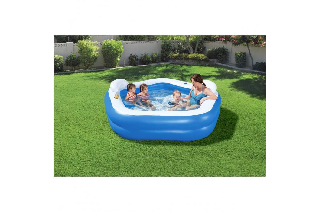 Bestway Nafukovací bazén rodinný, 213 x 206 x 69 cm
