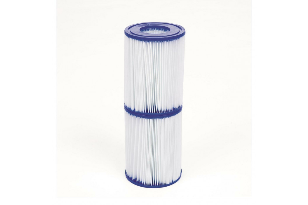 Bestway Kartušová filtrační vložka 10,6 x 13,6 cm, 2 ks
