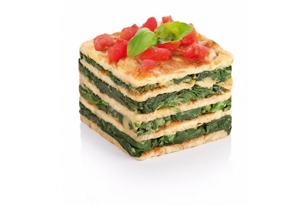 Formičky na tvarování pokrmů, čtverce, 3 ks