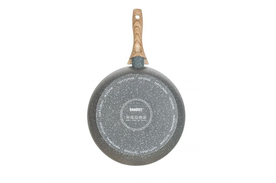 BANQUET Pánev s nepřilnavým povrchem NATURAL STONE 24 x 4,7 cm, pr. 24 cm