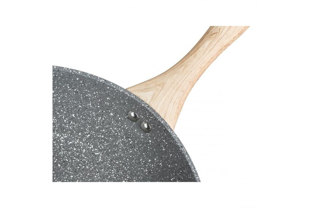 BANQUET Pánev na palačinky s nepřilnavým povrchem NATURAL STONE 24 x 1,8 cm