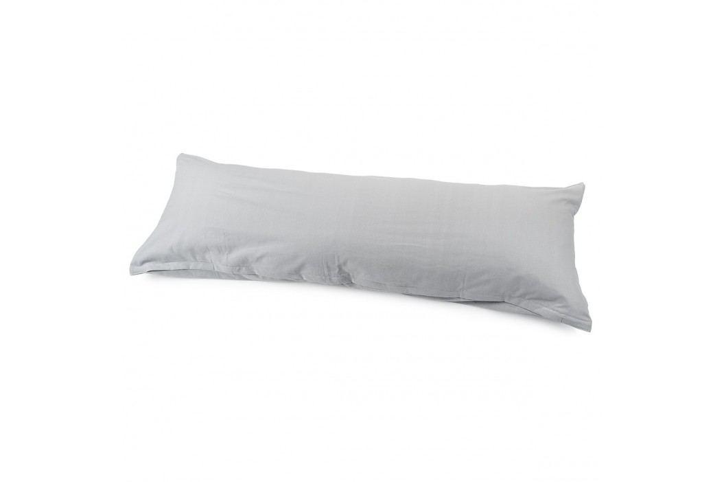 povlak na Relaxační polštář Náhradní manžel světle šedá, 50 x 150 cm