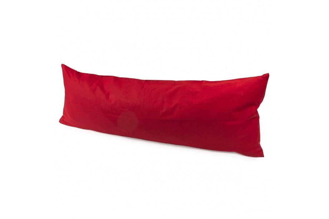 povlak na Relaxační polštář Náhradní manžel červená, 50 x 150 cm