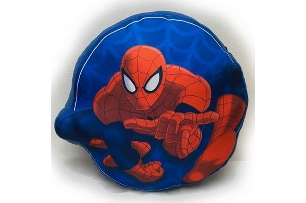 Jerry Fabrics Tvarovaný polštářek Spiderman 01, 34 x 30 cm