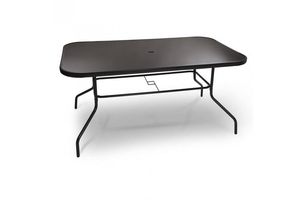 FDZN 5030 AL Stůl černá deska FIELDMANN