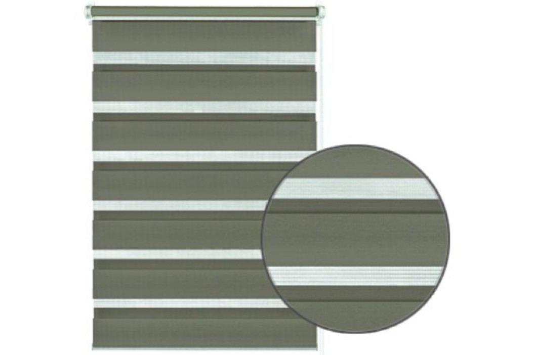 Gardinia Roleta easyfix dvojitá mocca, 75 x 150 cm obrázek inspirace