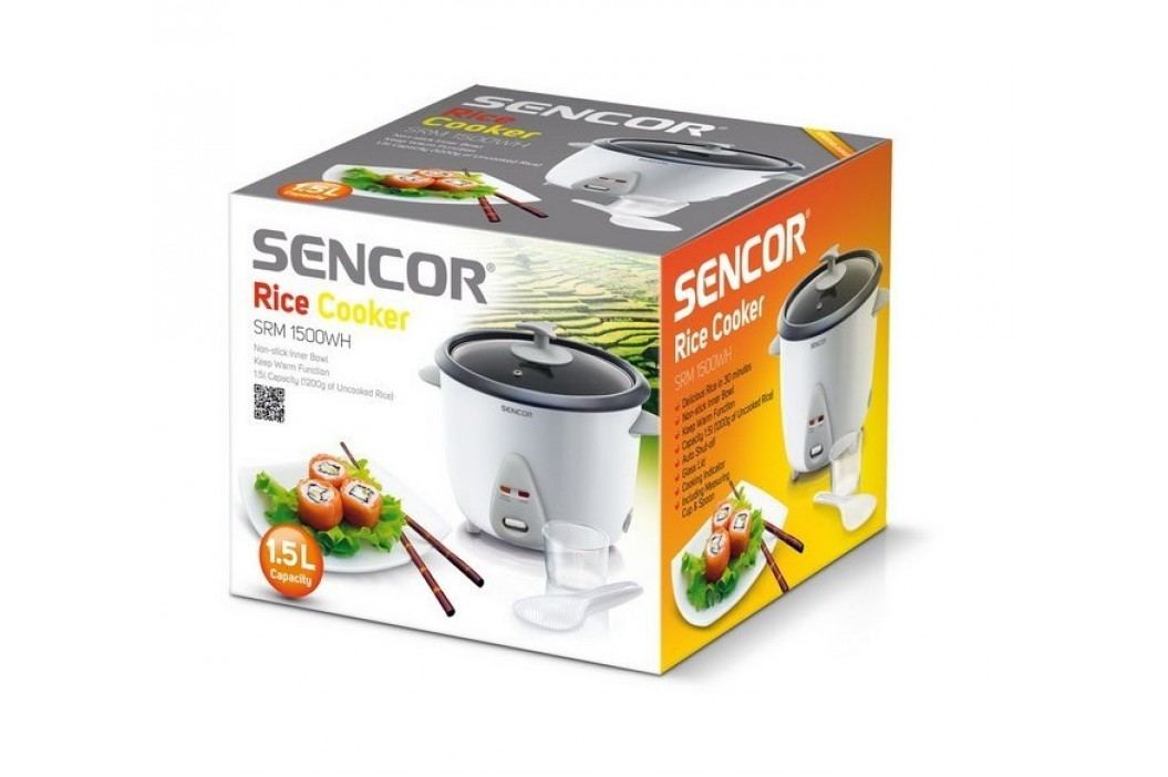 Rýžovar SRM 1500WH, 1,5 l, Sencor
