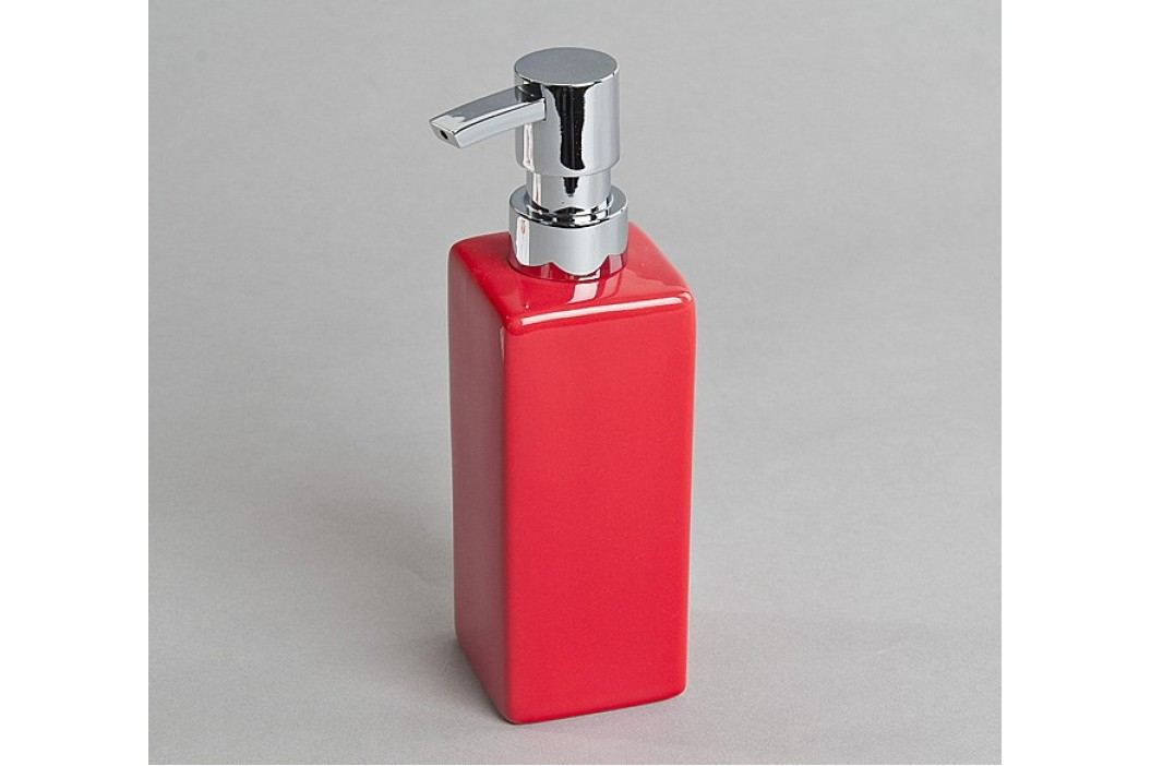 Dávkovač mýdla, červený
