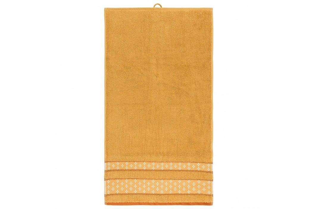 Bade Home Ručník Vanesa oranžová, 50 x 90 cm