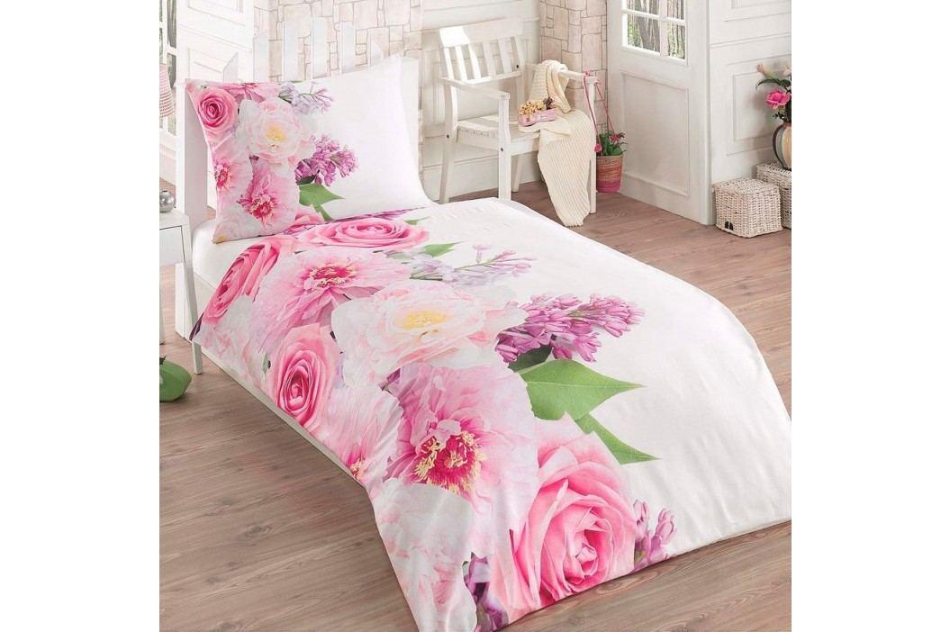 Bade Home 3D povlečení Květiny 140 x 200 cm 70 x 90 cm.