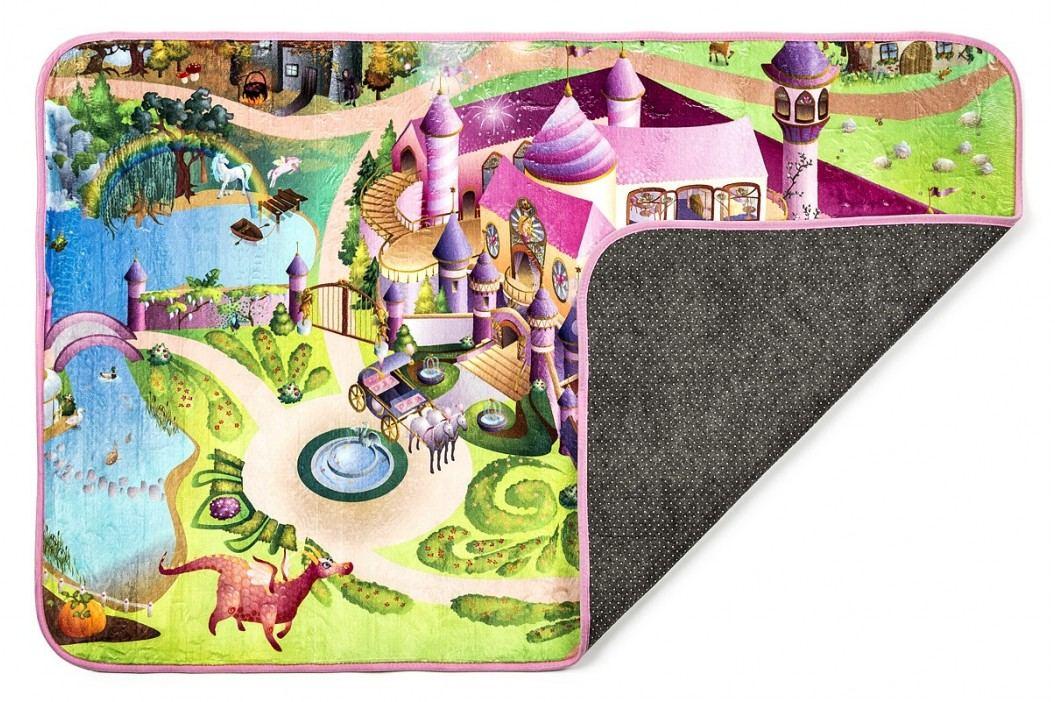 Vopi Dětský koberec Ultra Soft Zámek, 70 x 95 cm