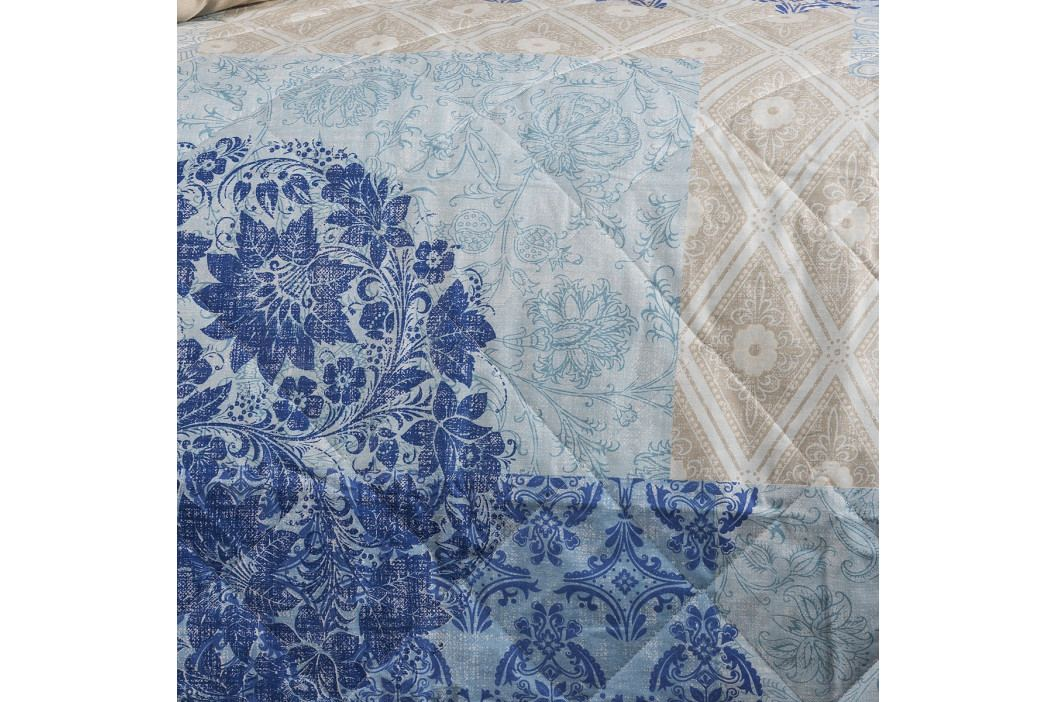 Night in Colours Přehoz na postel Ottorino modrá