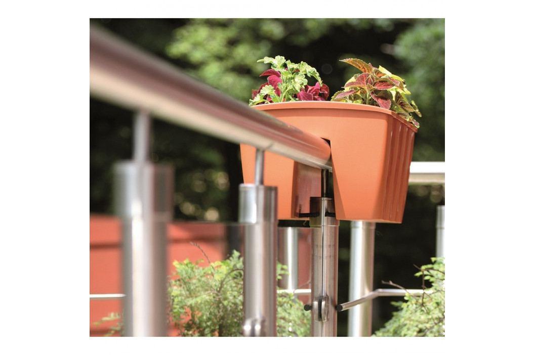 PROSPERPLAST truhlík balkonový CROWN 24x28x20 cm