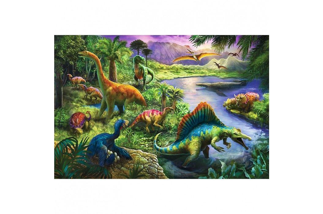 Puzzle Trefl Dinosauři 260 dílků obrázek inspirace