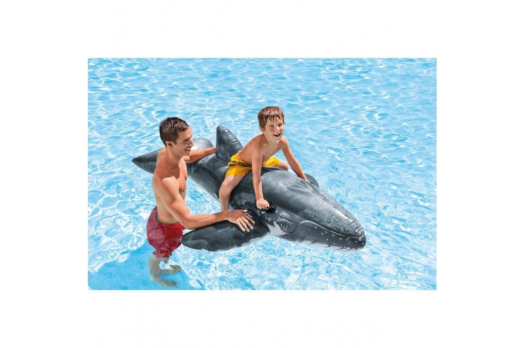 Intex Nafukovací velryba šedá, 201 cm