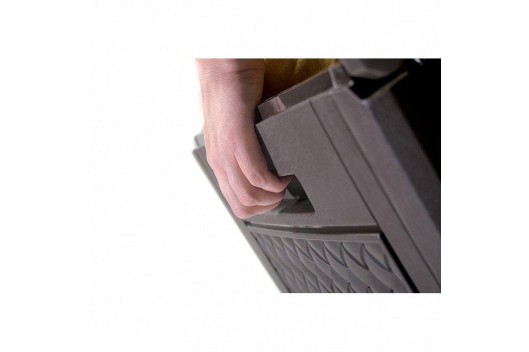 Prosperplast Zahradní úložný box Matuba hnědá, 310 l
