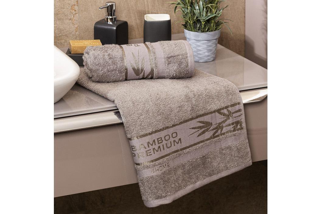 4Home Ručník Bamboo Premium šedá