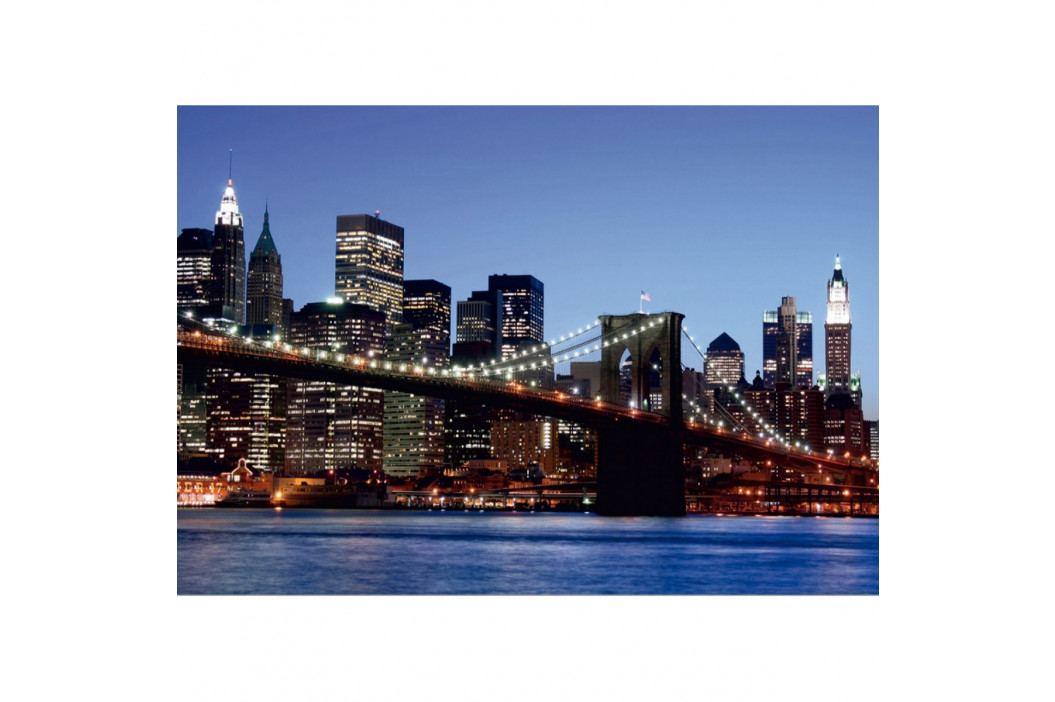 AG Art Fototapeta XXL Brooklynský most 360 x 270 cm, 4 díly