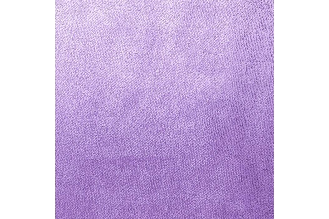 4Home prostěradlo mikroflanel světle fialová, 160 x 200 cm, 160 x 200 cm