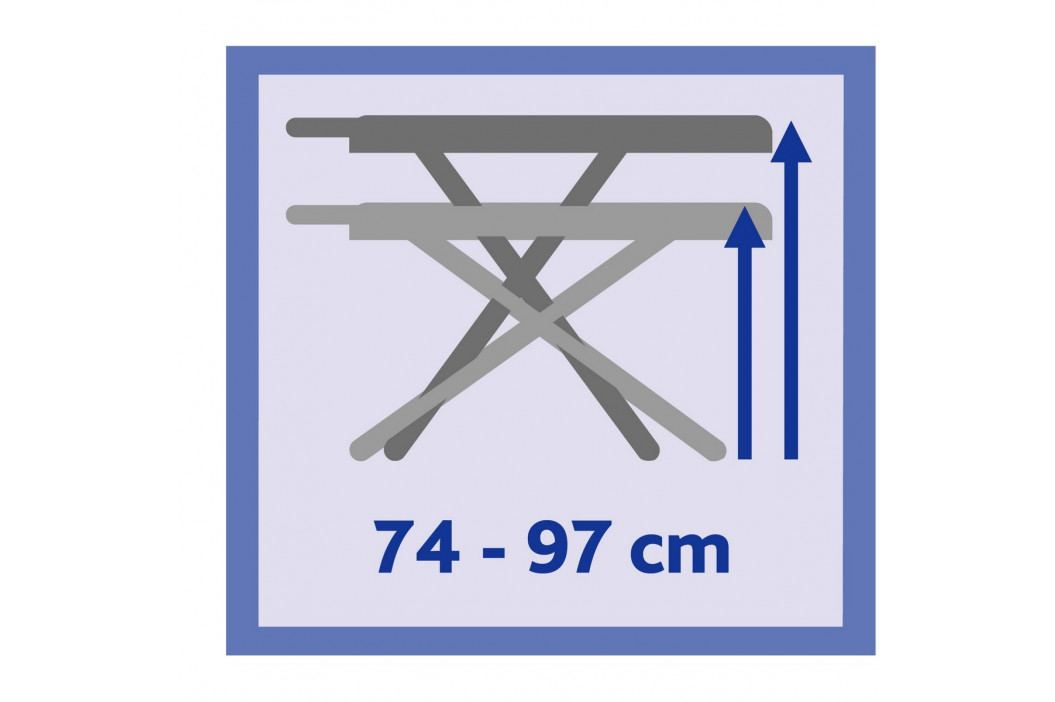 Vileda Total Reflect Plus žehlicí prkno 130x44cm