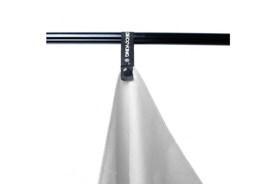 DecoKing Fitness Ručník Ekea bílá, 40 x 80 cm