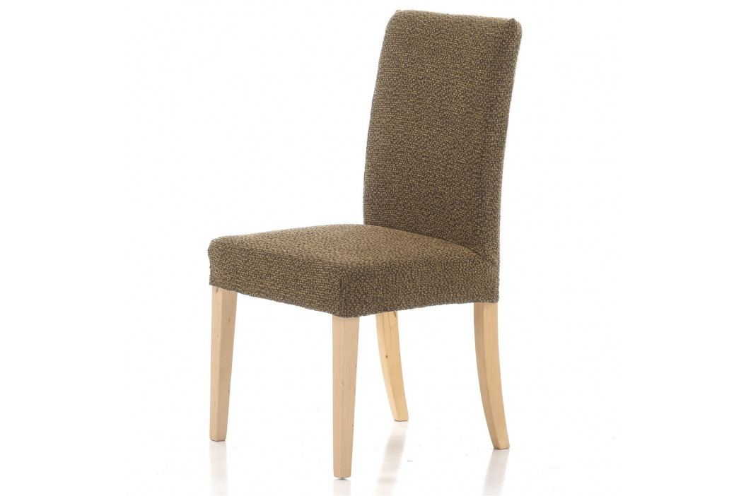 Forbyt Multielastický potah na židli Petra gold, 40 - 50 cm, sada 2 ks