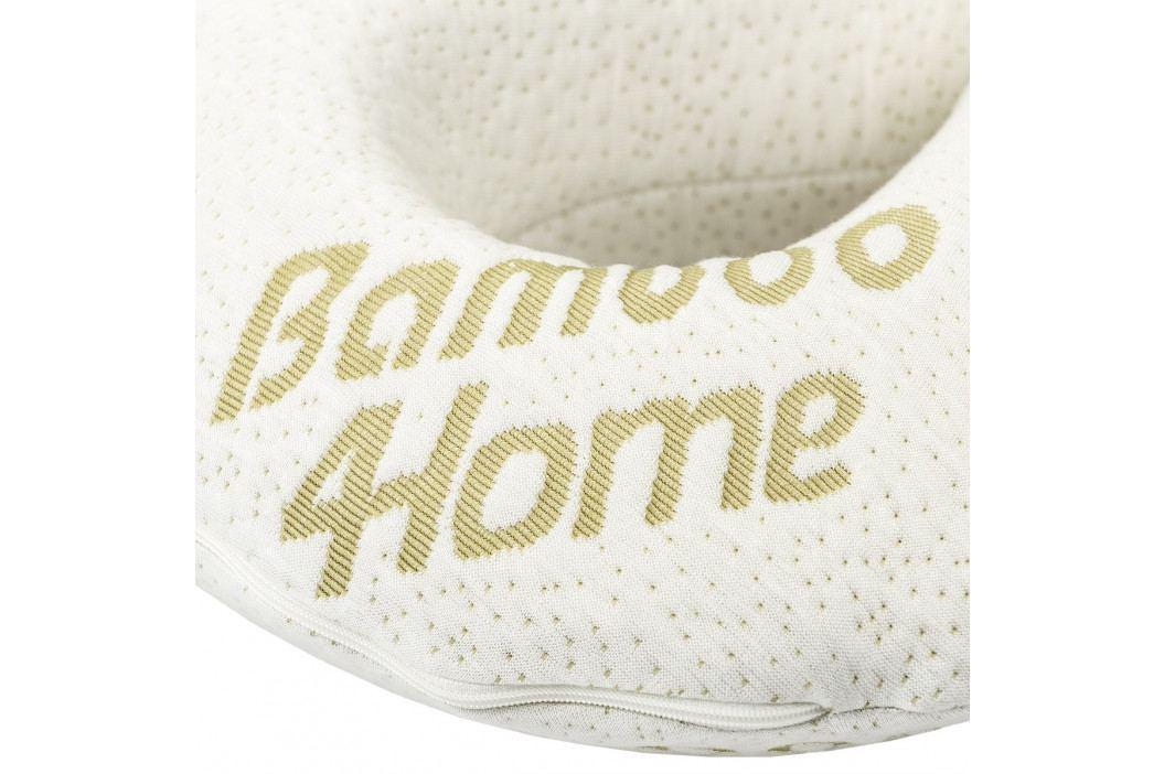 4Home Cestovní polštářek z paměťové pěny Bamboo, 32 x 20 cm