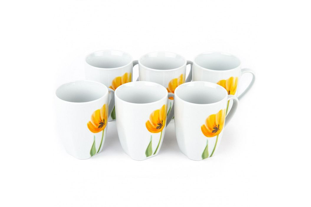 Domestic Sada hrnků Tulip 310 ml, 6 ks 993801