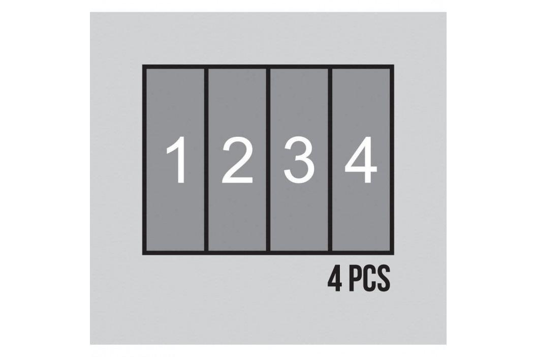 AG Art Dětská fototapeta XXL Medvídek Pú a jeho přátelé 360 x 270 cm, 4 díly