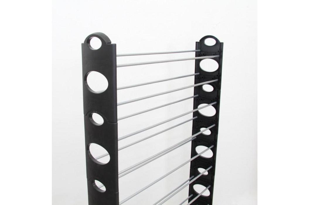 Tempo Kondela Botník Botis 4 černá, 154 cm