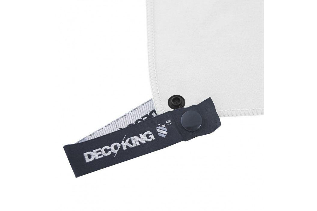 DecoKing Fitness Osuška Ekea bílá, 70 x 140 cm
