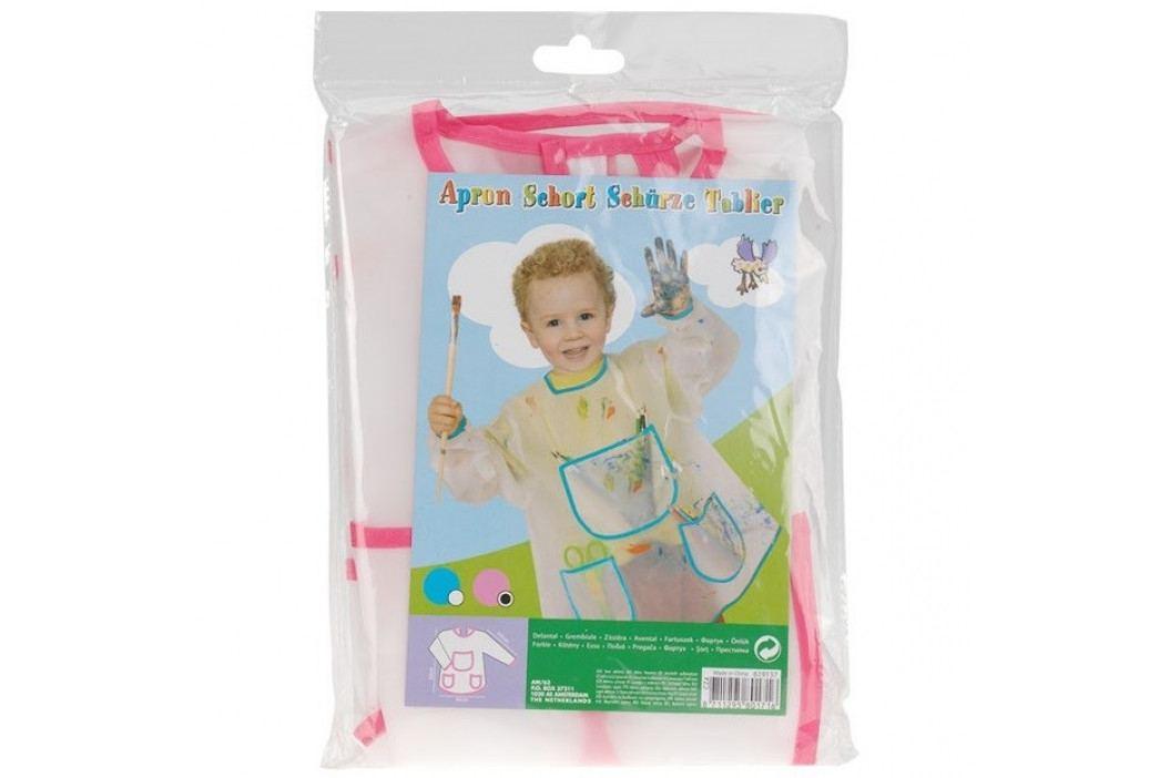 Dětská zástěra na malování Pockets, modrá