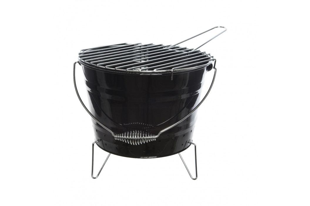 BBQ gril černá, pr. 27 cm